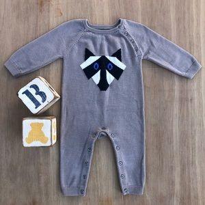 Baby Gap Raccoon Romper 12-18